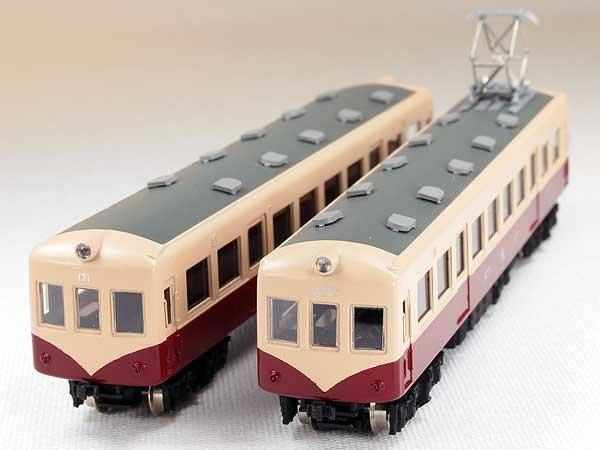 画像1: 【1/150】 富山地鉄14770形タイプ原型2輌車体キット ※ (1)