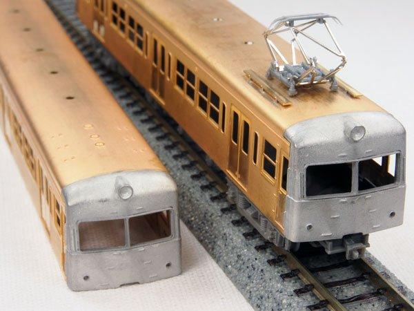 画像1: 【1/150】 一畑90タイプ(片運車)2輌車体キット (1)