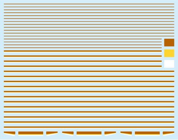 画像1: 【1/150】 副都心7000タイプラインデカール#2 (1)