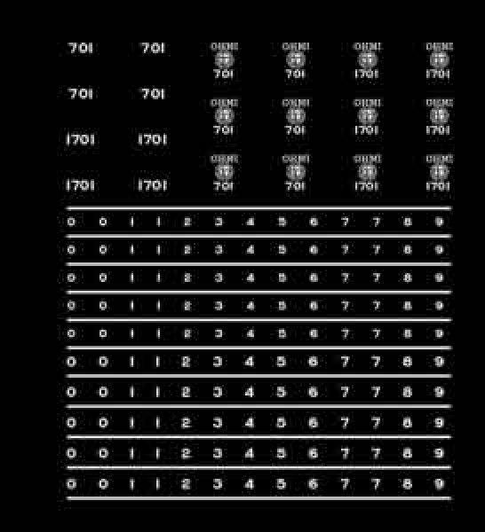 画像1: 【直販限定品 1/150】 近江700インレタ(銀) (1)