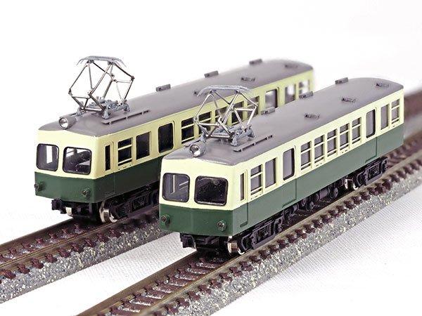 画像1: 【1/150】 奈良電1300タイプ2輌車体キット (1)